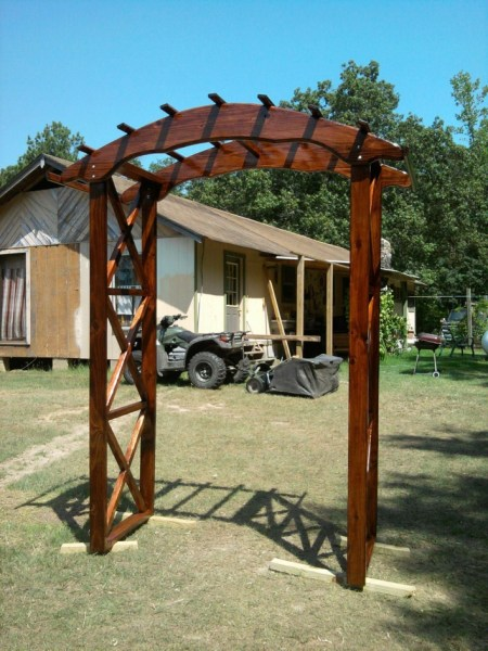 84 Backyard Decoration Ideas for Transform Your Backyard with A Quality Wood Pergola or Arbor 6347