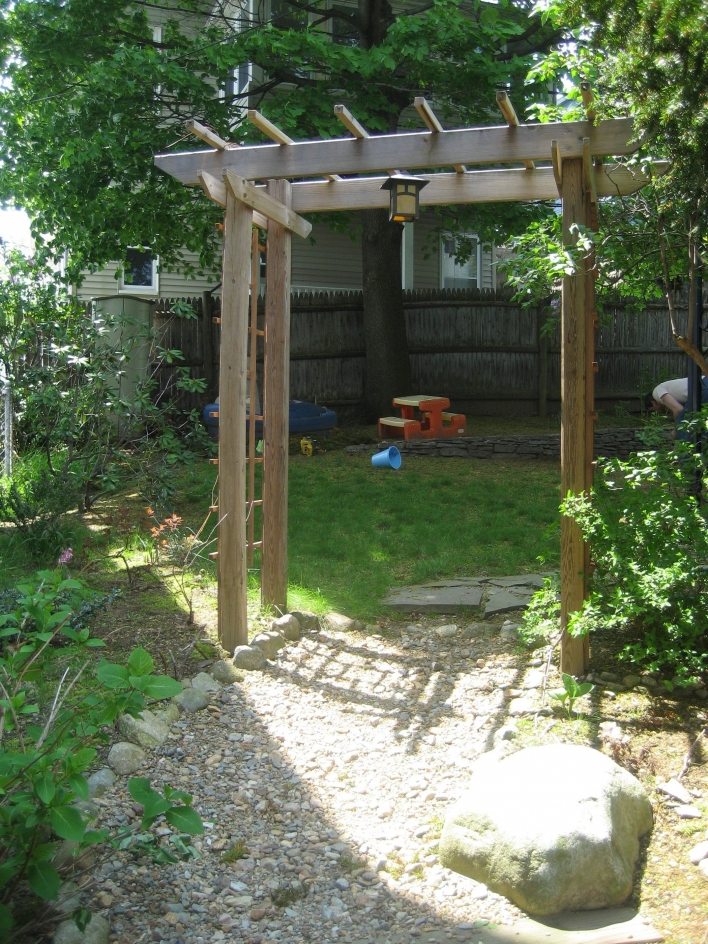 84 Backyard Decoration Ideas for Transform Your Backyard with A Quality Wood Pergola or Arbor 6349