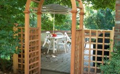 84 Backyard Decoration Ideas For Transform Your Backyard With A Quality Wood Pergola Or Arbor 27