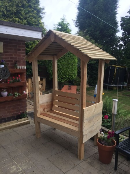 84 Backyard Decoration Ideas for Transform Your Backyard with A Quality Wood Pergola or Arbor 6357