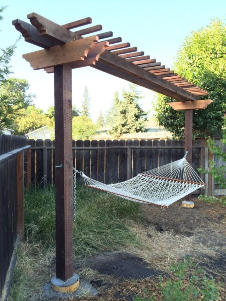 84 Backyard Decoration Ideas for Transform Your Backyard with A Quality Wood Pergola or Arbor 6332