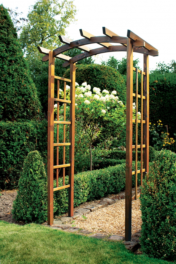 84 Backyard Decoration Ideas for Transform Your Backyard with A Quality Wood Pergola or Arbor 6358