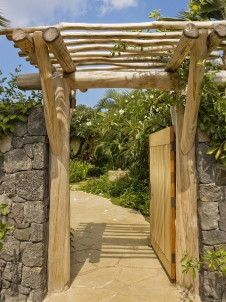 84 Backyard Decoration Ideas for Transform Your Backyard with A Quality Wood Pergola or Arbor 6371