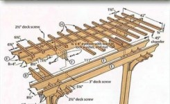 84 Backyard Decoration Ideas For Transform Your Backyard With A Quality Wood Pergola Or Arbor 46