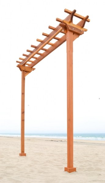 84 Backyard Decoration Ideas for Transform Your Backyard with A Quality Wood Pergola or Arbor 6376