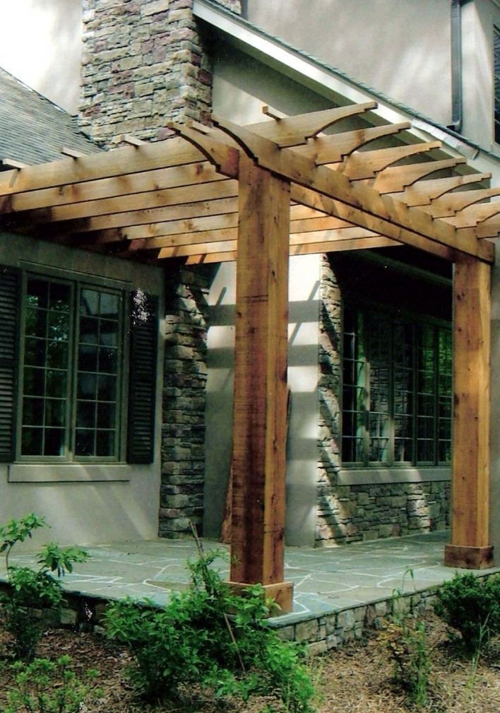 84 Backyard Decoration Ideas for Transform Your Backyard with A Quality Wood Pergola or Arbor 6390