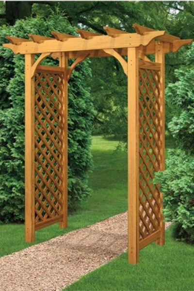 84 Backyard Decoration Ideas for Transform Your Backyard with A Quality Wood Pergola or Arbor 6397