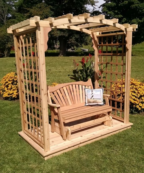 84 Backyard Decoration Ideas for Transform Your Backyard with A Quality Wood Pergola or Arbor 6402