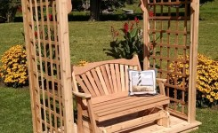 84 Backyard Decoration Ideas For Transform Your Backyard With A Quality Wood Pergola Or Arbor 74