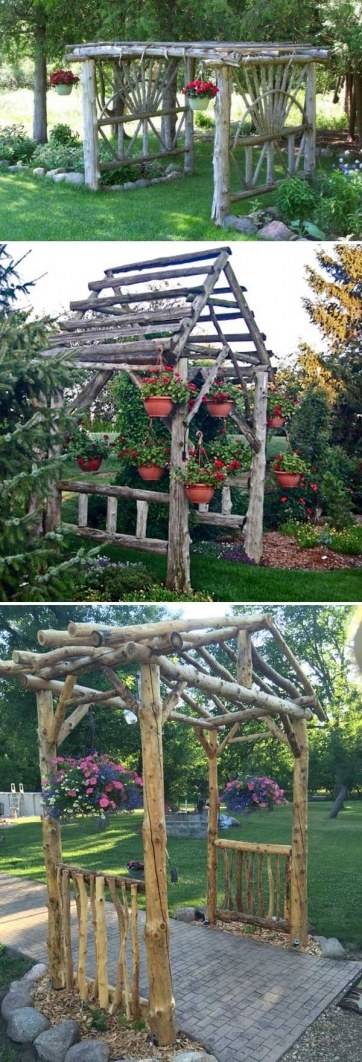 84 Backyard Decoration Ideas for Transform Your Backyard with A Quality Wood Pergola or Arbor 6405