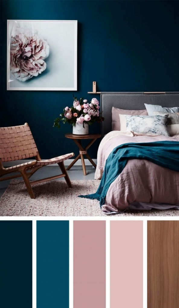 90 attractive Interior Design Color Schemes From Various Rooms 5244