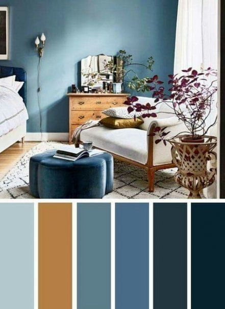 90 attractive Interior Design Color Schemes From Various Rooms 5295