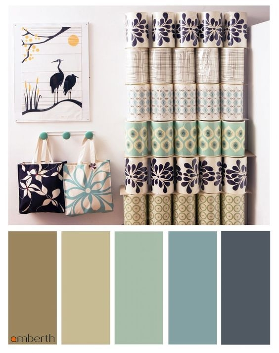 90 attractive Interior Design Color Schemes From Various Rooms 5247