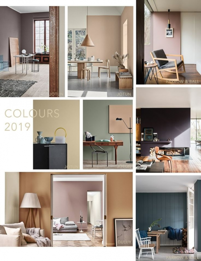 90 attractive Interior Design Color Schemes From Various Rooms 5249