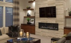 90 Most Popular Wall Mount Tv Ideas For Living Room 14