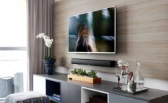 90 Most Popular Wall Mount Tv Ideas For Living Room 72