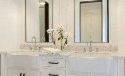 91 Modern Double Bathroom Vanity Is Your Modern Double Bathroom Vanity Large Enough To Accommodate Two People Simultaneously 17