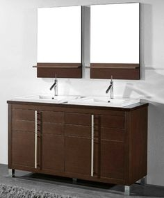 91 Modern Double Bathroom Vanity - is Your Modern Double Bathroom Vanity Large Enough to Accommodate Two People Simultaneously? 5900