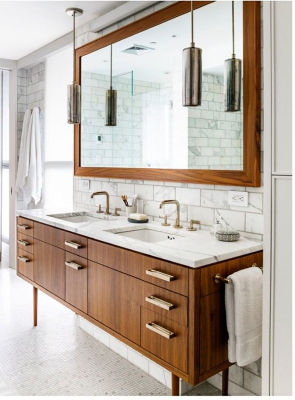 91 Modern Double Bathroom Vanity - is Your Modern Double Bathroom Vanity Large Enough to Accommodate Two People Simultaneously? 5874