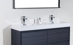 91 Modern Double Bathroom Vanity Is Your Modern Double Bathroom Vanity Large Enough To Accommodate Two People Simultaneously 6