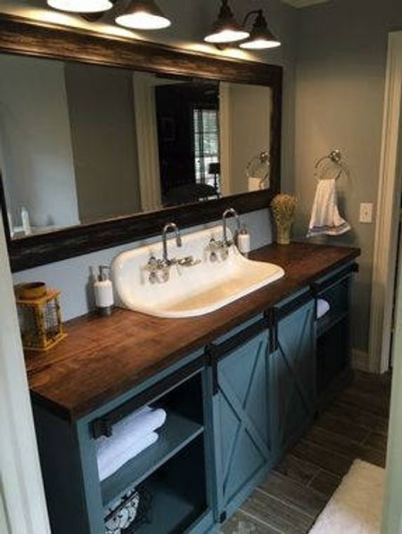 91 Modern Double Bathroom Vanity - is Your Modern Double Bathroom Vanity Large Enough to Accommodate Two People Simultaneously? 5936
