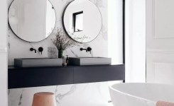 91 Modern Double Bathroom Vanity Is Your Modern Double Bathroom Vanity Large Enough To Accommodate Two People Simultaneously 70