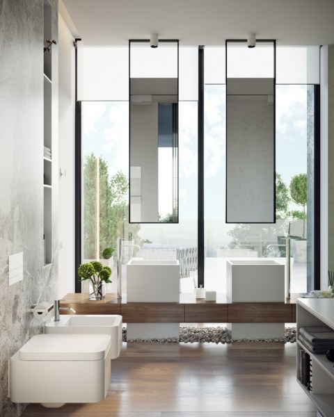 91 Modern Double Bathroom Vanity - is Your Modern Double Bathroom Vanity Large Enough to Accommodate Two People Simultaneously? 5941