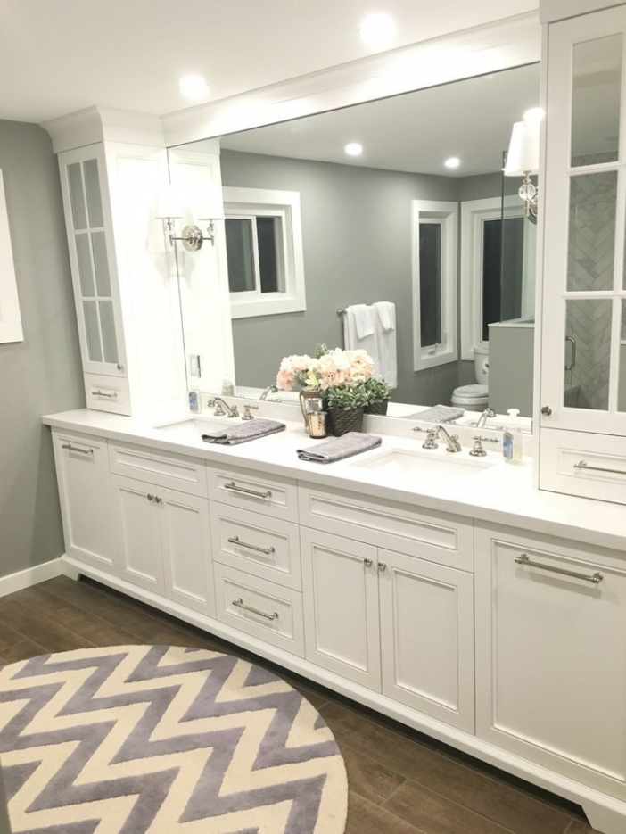 91 Modern Double Bathroom Vanity - is Your Modern Double Bathroom Vanity Large Enough to Accommodate Two People Simultaneously? 5947