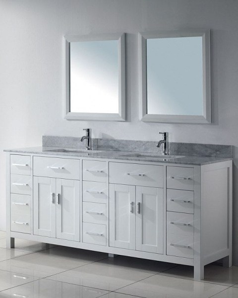 91 Modern Double Bathroom Vanity - is Your Modern Double Bathroom Vanity Large Enough to Accommodate Two People Simultaneously? 5954