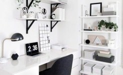 97 Home Office Design Ideas That Look Elegant Following Easy Tips For Decorating 24