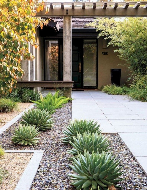 99 Small Front Yard Landscaping Ideas Low Maintenance 4359