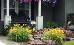 99 Small Front Yard Landscaping Ideas Low Maintenance 27