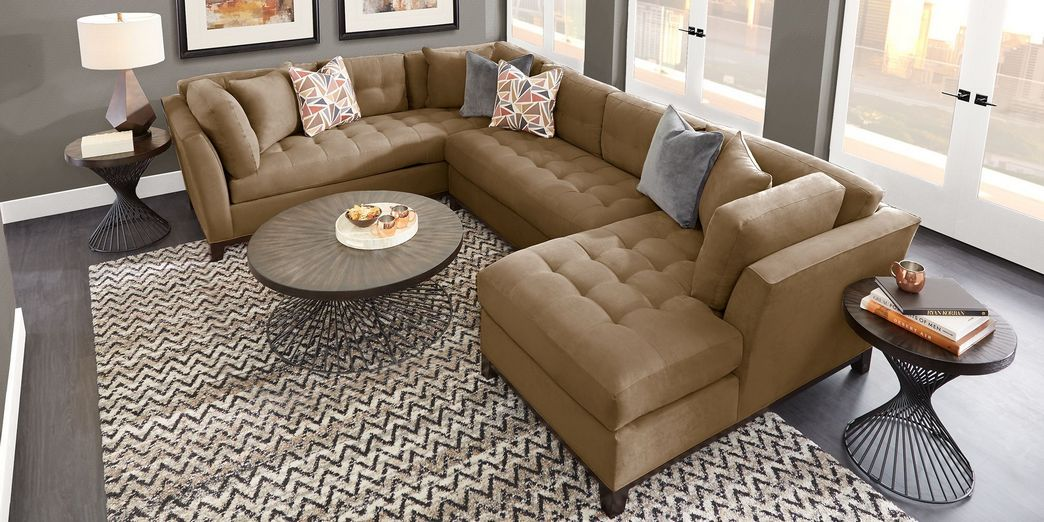 97 Most Popular Top Choices Rooms To Go Cindy Crawford Sectional 3