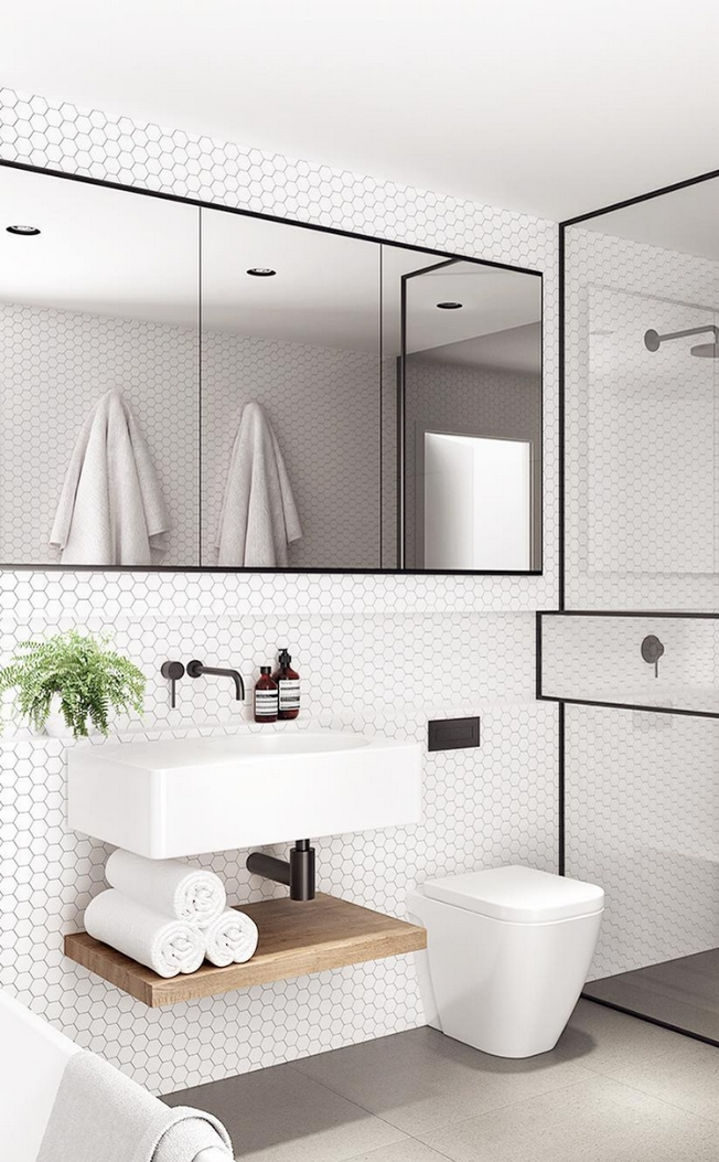 100 Awesome Design Ideas For A Small Bathroom Remodel 10