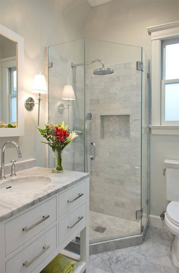 100 Awesome Design Ideas For A Small Bathroom Remodel 12