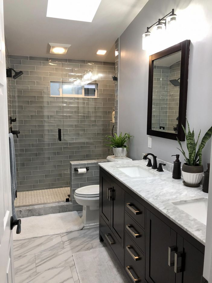 100 Awesome Design Ideas For A Small Bathroom Remodel 56