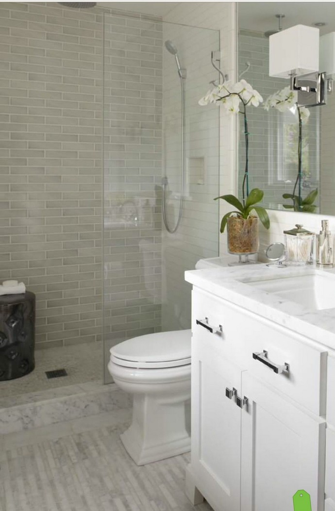 100 Awesome Design Ideas For A Small Bathroom Remodel 75