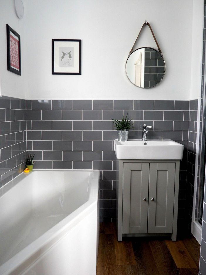 100 Awesome Design Ideas For A Small Bathroom Remodel 97