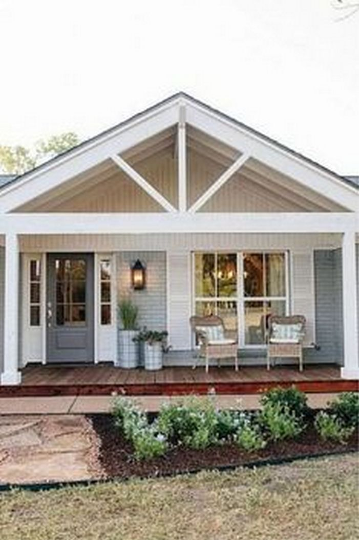 63 Amazing Ranch Home Design Ideas 2