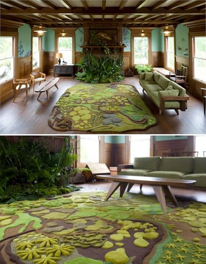 69 Attractive Organic Interior Designs That Look Beautiful 65