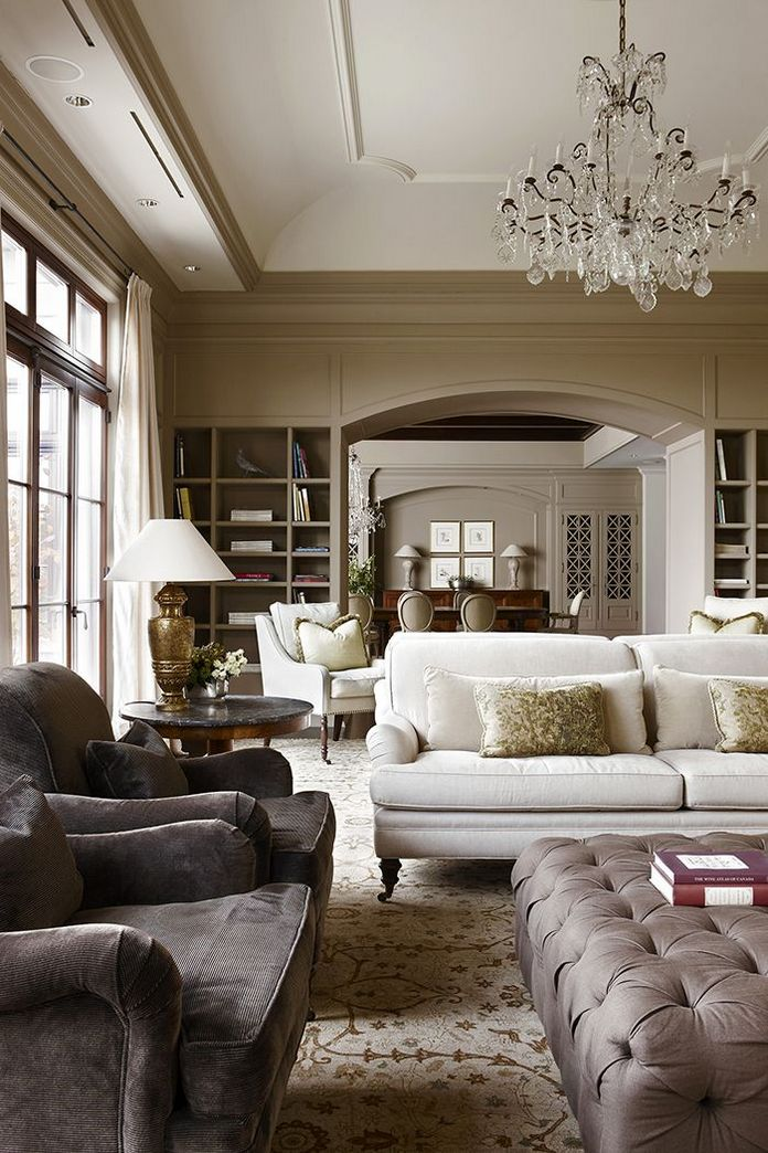 83 Interior Design Models That Look Luxurious And Are Designed To Decorate The Living Room 16