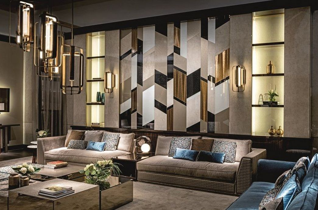 83 Interior Design Models That Look Luxurious And Are Designed To Decorate The Living Room 21