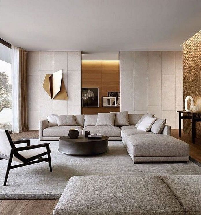 83 Interior Design Models That Look Luxurious And Are Designed To Decorate The Living Room 34