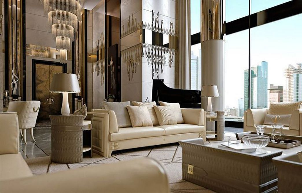 83 Interior Design Models That Look Luxurious And Are Designed To Decorate The Living Room 73