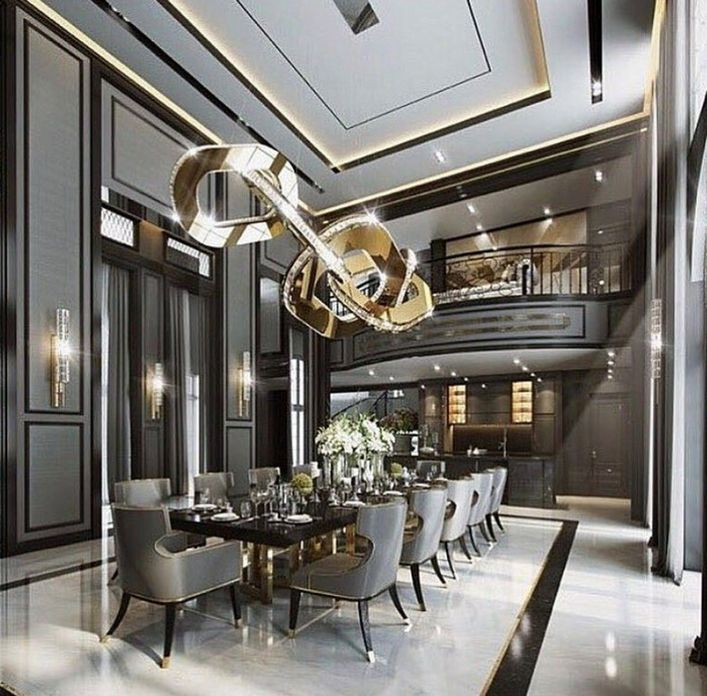 83 Interior Design Models That Look Luxurious And Are Designed To Decorate The Living Room 76