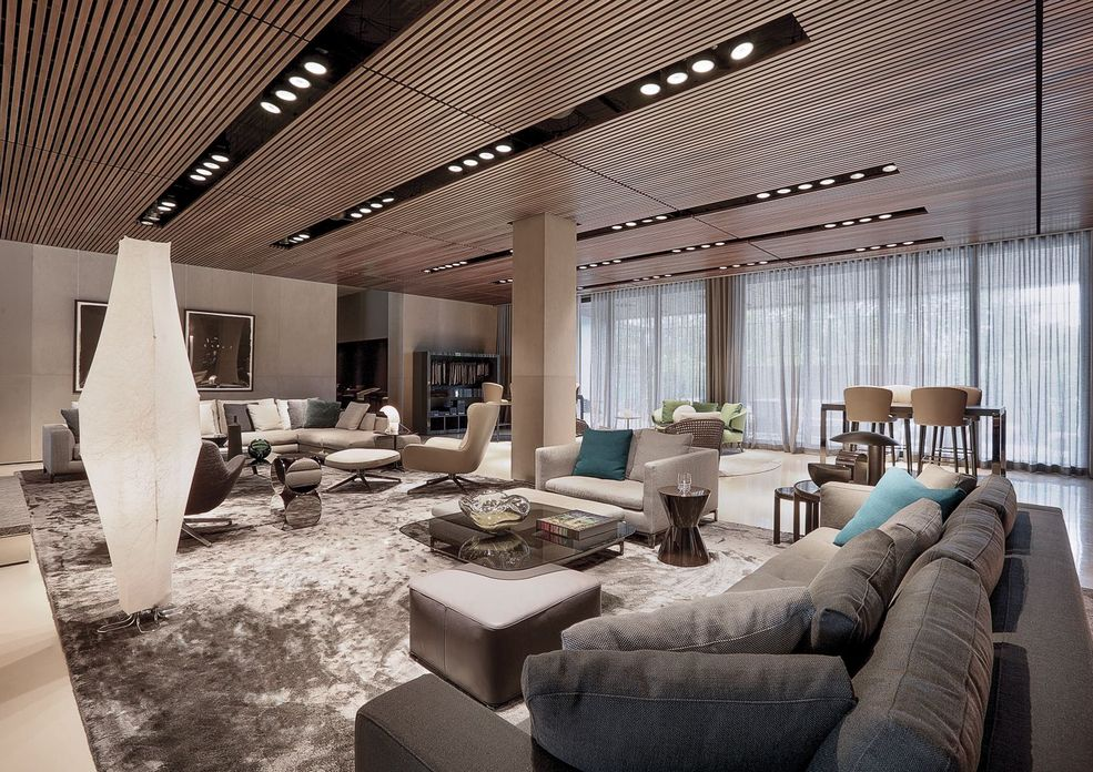 83 Interior Design Models That Look Luxurious And Are Designed To Decorate The Living Room 79