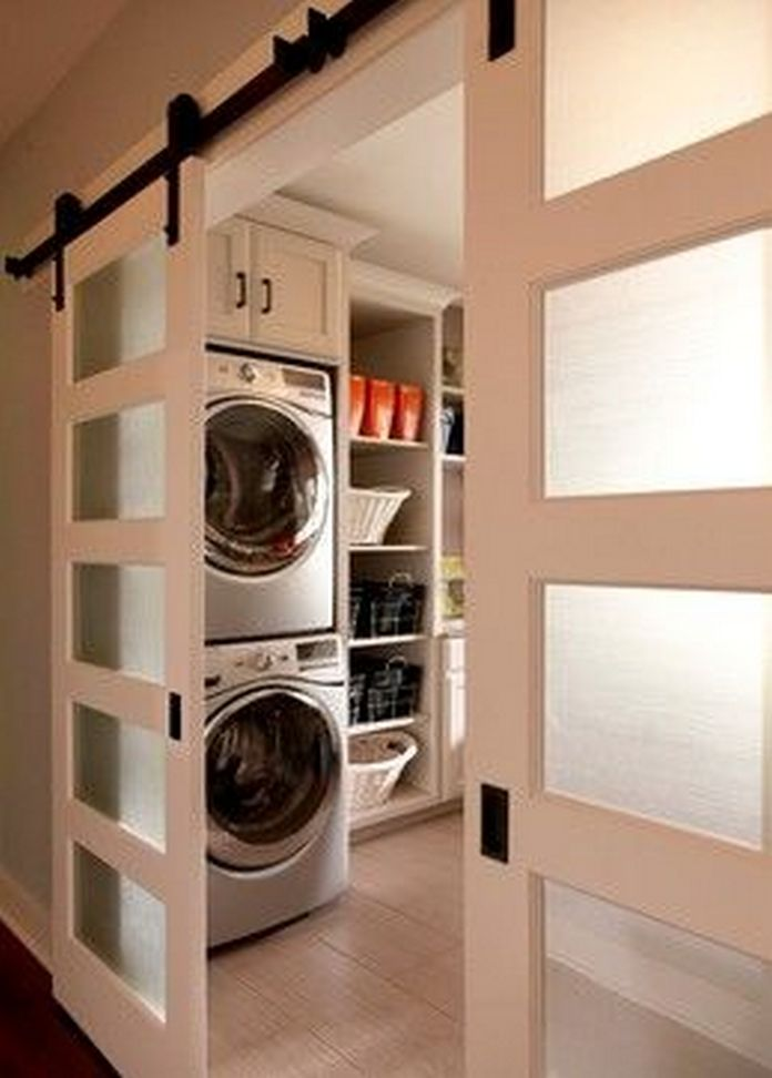 87 Outstanding Basement Laundry Rooms Decoration Models 15