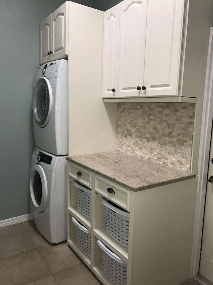 87 Outstanding Basement Laundry Rooms Decoration Models 17