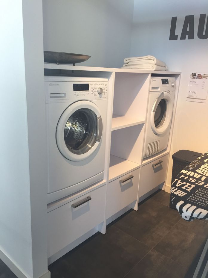87 Outstanding Basement Laundry Rooms Decoration Models 2