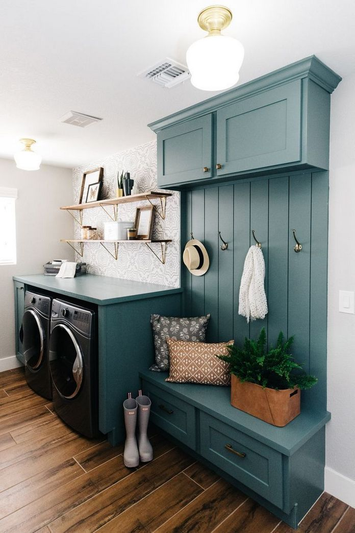 87 Outstanding Basement Laundry Rooms Decoration Models 24